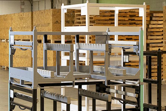 Steel Shipping Racks