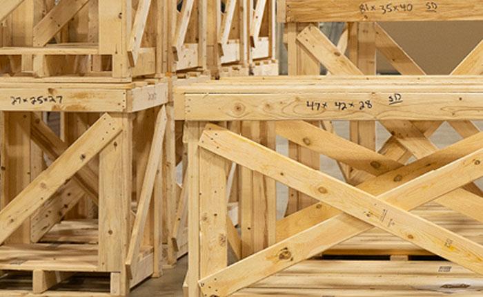 Lamar Wood Crates